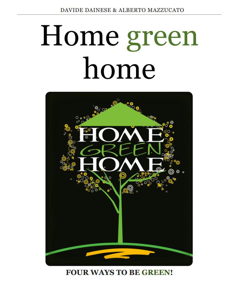 Copertina Libro Home Green Home