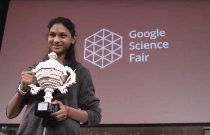 Kiara Nirghin vincitrice del google science fair con un progetto sulla siccità in Africa