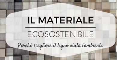 Legno materiale sostenibile