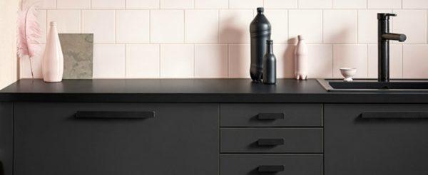 Cucina fatta in materiale sostenibile