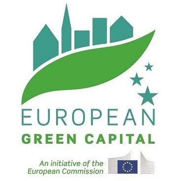 Logo della Capitale Verde Europea organizzata dall'Unione Europea