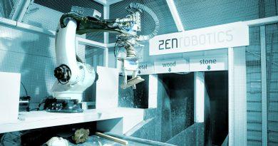 Macchinario per la raccolta differenziata robotico