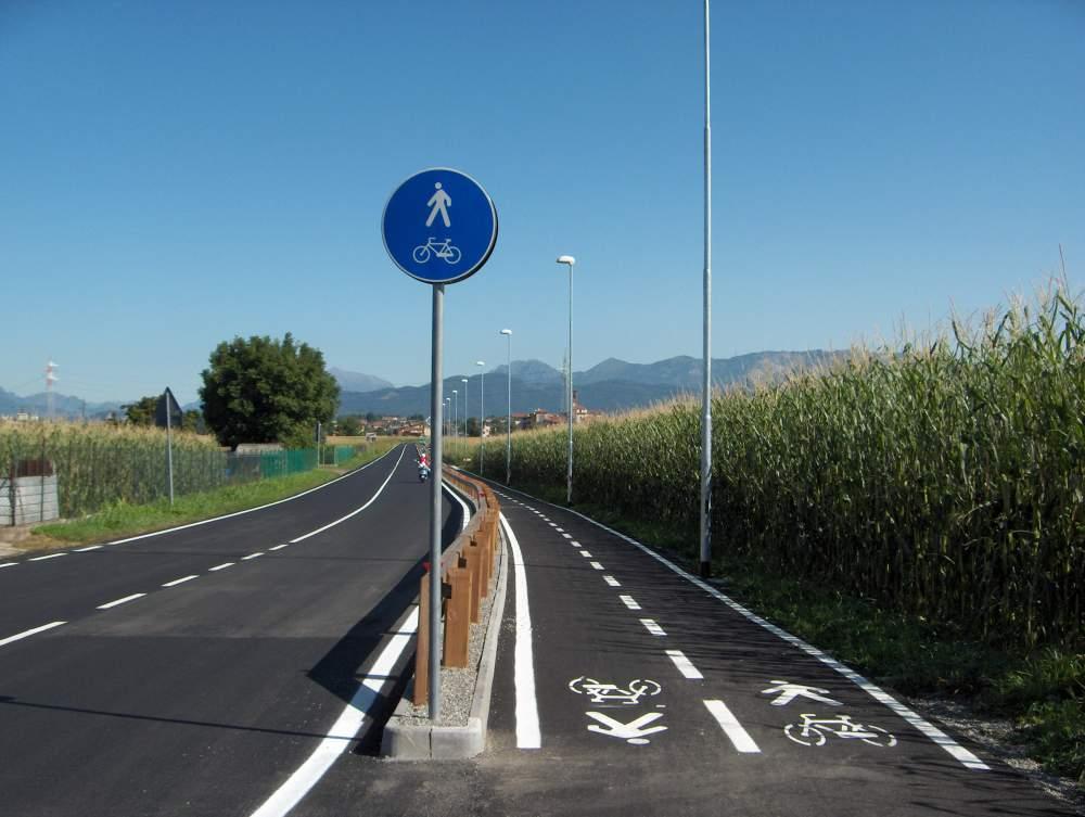 Piste ciclabili in Veneto