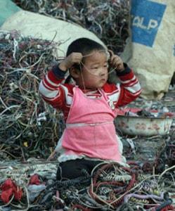 Rifiuti elettronici in Thailandia