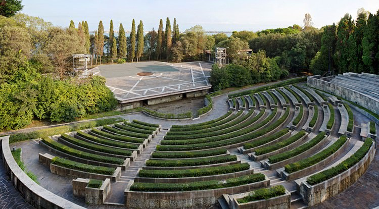 Restauro del Teatro Verde a San Giorgio Maggiore (VENEZIA)