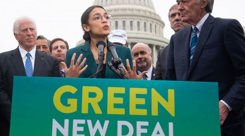 Green New Deal negli Stati Uniti d'America