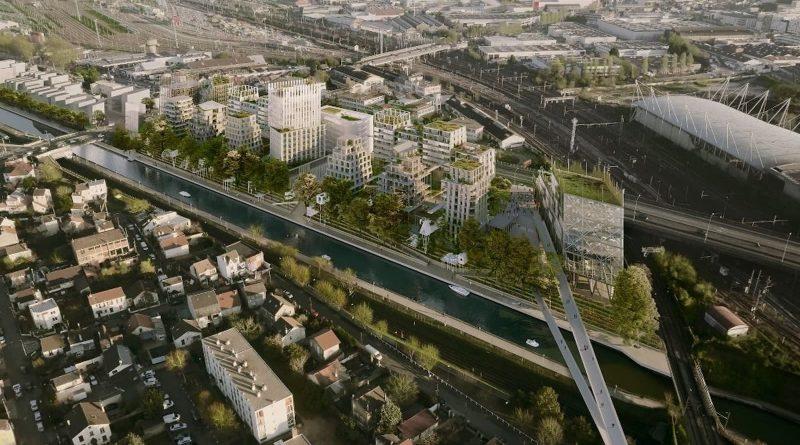 Mkno progetto a Parigi, Plaine de l'Ourcq