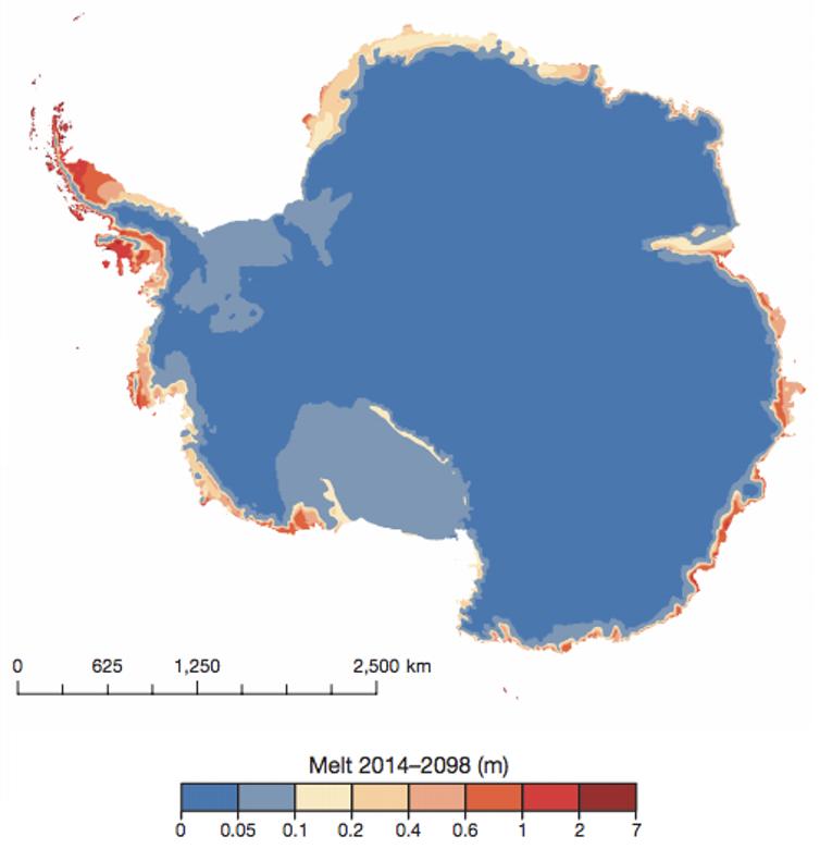 Riscaldamento globale in Antartide