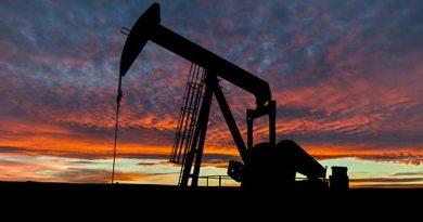 Estrazione di una società che è fallita a causa del crollo dei prezzi del petrolio