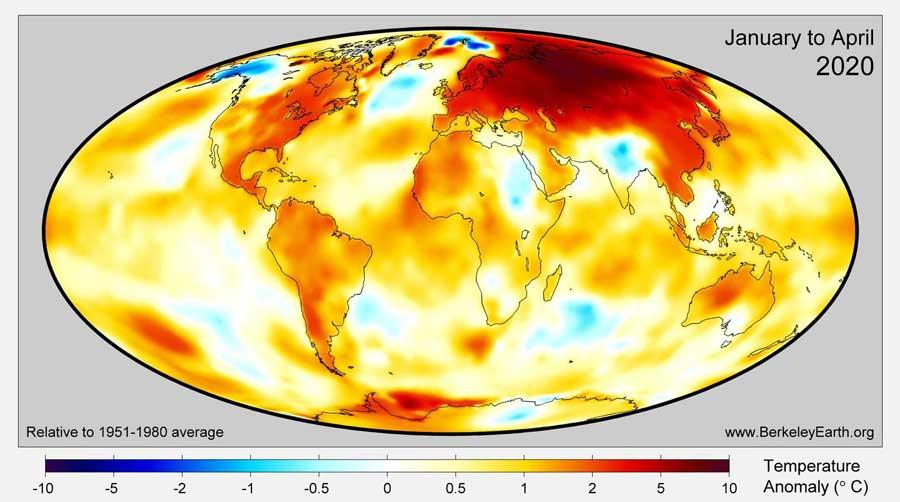 Incendi al Polo Nord