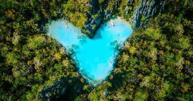 Lago a forma di cuore tutelato dall'Europa per mantenere la biodiversità