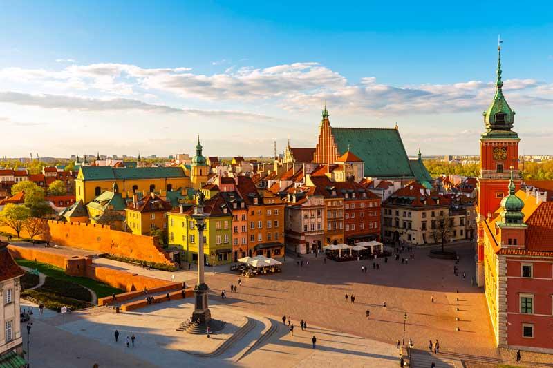 Varsavia: una città sempre più sostenibile