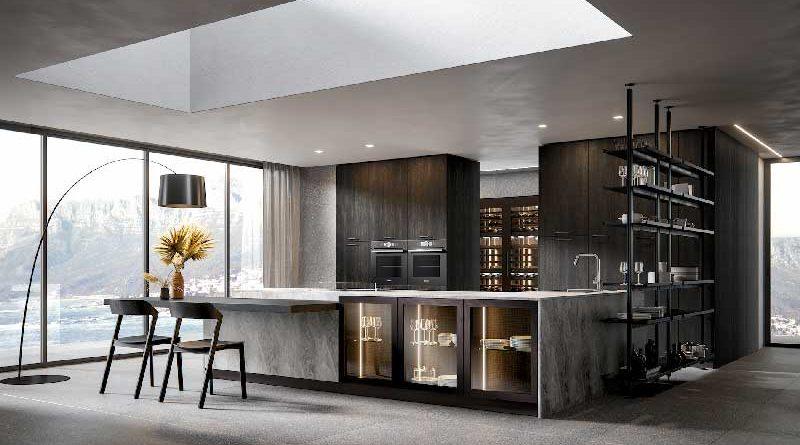 Cucina Home Cucine modello Aura sostenibile e certificata