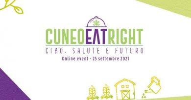 Evento Cuneo Eat Right 2021